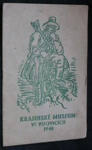 náhled knihy - Krajinské museum ve Vizovicích 1940