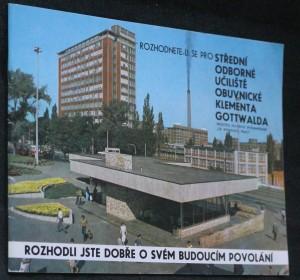 náhled knihy - Střední odborné učiliště obuvnické Klementa Gottwalda