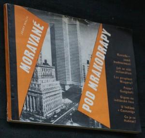 náhled knihy - Moravané pod mrakodrapy