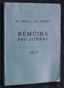 náhled knihy - Němčina pro Zlíňany. Díl II