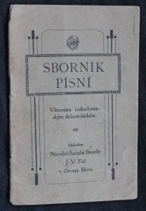 náhled knihy - Sborník písní: Věnováno československým dobrovolníkům