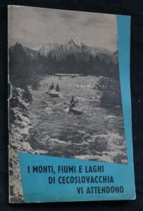 náhled knihy - I monti, fiumi e laghi di cecoslovacchia vi attendono