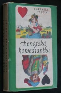náhled knihy - Benátská komediantka
