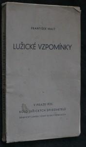 náhled knihy - Lužické vzpomínky