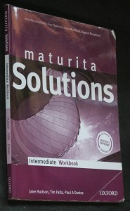 náhled knihy - Maturita solutions intermediate workbook