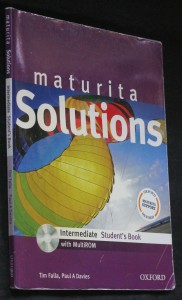 náhled knihy - Maturita solutions intermediate student't book