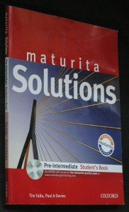 náhled knihy - Maturita solutions pre-intermediate student's book