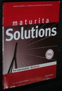 náhled knihy - Maturita solutions pre-intermediate workbook