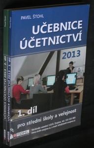 náhled knihy - Učebnice účetnictví 2013 : pro střední školy a veřejnost 1.-2. díl