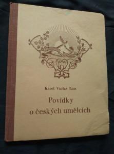 náhled knihy - Povídky o českých umělcích - Hollar, Benda, Mysliveček, Dusík ad. (Oppl, 76 s., il. K. Putz)