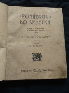 antikvární kniha Pohádkou do srdéčka (Ppl, 82 s., 6 barvotisků), neuveden