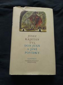 náhled knihy - Don Juan a jiné povídky (Ocpl, 292 s., ob a il. C. Bouda)