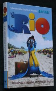 náhled knihy - Rio : dobrodružství papouška, který neuměl létat