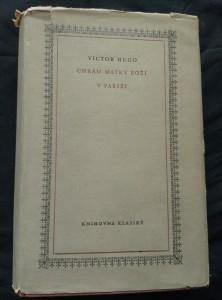 náhled knihy - Chrám Matky boží v Paříži (Ocpl, 540 s.)