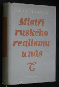 náhled knihy - Mistři ruského realismu u nás