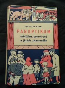 náhled knihy - Panoptikum měšťáků, byrokratů a jiných zkamenělin (Oppl, 272 s., ob a il J. Novák, usp. Z. Ančík)