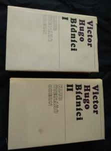 náhled knihy - Bídníci I, II (Ocpl, 728 a 752 s.)