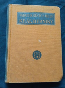 náhled knihy - Král Berniny - román ze švýcarských velehor (Ocpl, 327 s., přel. K. Weinfurter, il. J. Goth)