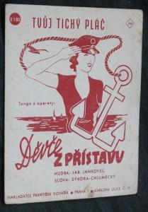 náhled knihy - Děvče z přístavu. Tvůj tichý pláč, tango z operety Děvče z přístavu