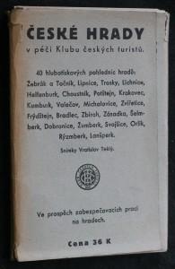 náhled knihy - České hrady v péči klubu českých turistů, 40 hlubokotiskových pohlednic hradů