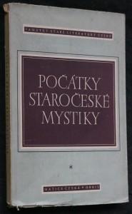 náhled knihy - Počátky staročeské mystiky