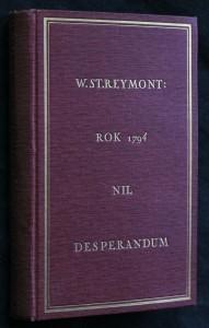 náhled knihy - Rok 1794 Nil desperandum