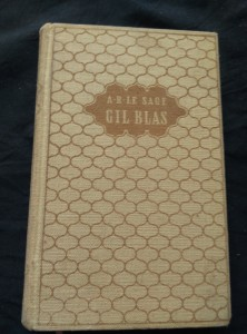 náhled knihy - Gil Blas - Příběhy Gila Blase ze Santillany (Ocpl, 880 s., il. F. Hudeček)