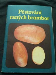 náhled knihy - Pěstování raných brambor (Obr)
