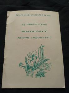 náhled knihy - Sukulenty - Pěstování v moderním bytě (Obr, 16 s., il.)