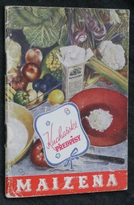 náhled knihy - Kuchařské předpisy maizena