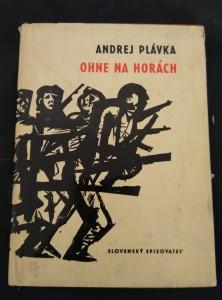 náhled knihy - Ohne na horách (A6, Ocpl, 44 s., ob a front J. Baláž)