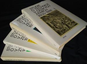 Studie o technice v českých zemích 1800 - 1918 - 4 díly - Ocpl, I - 464 s, II - 568 s., III - 408 s., IV - 544 s.)