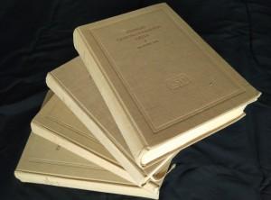 náhled knihy - Přehled československých dějin I, II/1, II/2, III (A4, Ocpl, 956, 1364, 672 s., mapy)