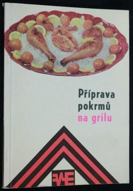 náhled knihy - Příprava pokrmů na grilu