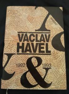 náhled knihy - Václav Havel 1992 a 1993 (pv., 208 s., il. K. Haloun, foto T. Němec, J. Hejzlar ad.)