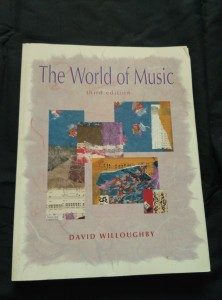 náhled knihy - The World of Music (A4, lam, 382 s. + 5 CD)