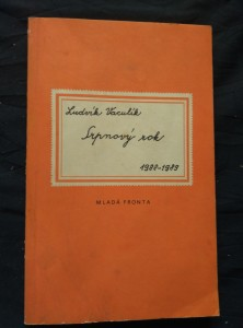 náhled knihy - Srpnový rok - fejetony z let 1988-1989 (Obr, 126 s.)