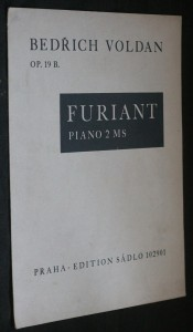náhled knihy - Furiant piano 2 MS