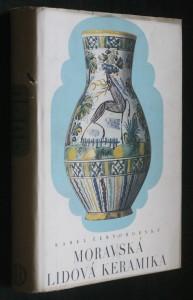 náhled knihy - Moravská lidová keramika