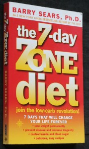 náhled knihy - The 7-day zone diet