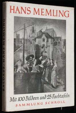 náhled knihy - Hans Memling Mit 100 Bildern und Farbtafeln
