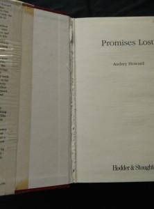 antikvární kniha Promises Lost - Her Captivatint New Liverpool Saga (A4,458 s.), 1996