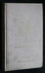 náhled knihy - Spisy VII : Studie národopisné
