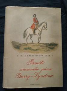 Paměti urozeného pána Barry - Lyndona (A4, Ocpl, 308 s., ob, vaz a il. K. Müller)