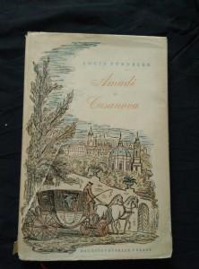 náhled knihy - Amadé a Casanova (Oppl, 64 s., ob a 16 il. K. Müller, přel. P. Eisner)