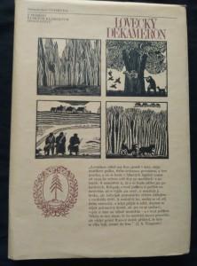 náhled knihy - Lovecký dekameron (A4, Ocpl, 260 s., dřevoryty Z. Táborská, il. E. Urban)