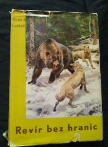 náhled knihy - Revír bez hranic (ob a předs. Z. Burian, foto)