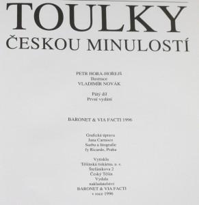 antikvární kniha Toulky českou minulostí. Pátý díl, [Od časů Marie Terezie (1740) do konce napoleonských válek (1815)], 1996