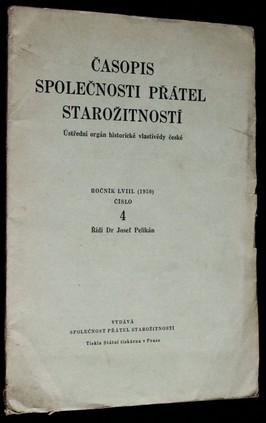 náhled knihy - Časopis společnosti přátel starožitností, ročník 58, č. 4