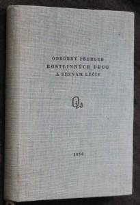 náhled knihy - Odborný přehled rostlinných drog a seznam léčiv vyráběných národním podnikem Léčivé rostliny Zbraslav nad Vltavou